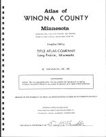 Title Page, Winona County 1982